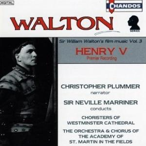 Sir William Walton's music on CD 1