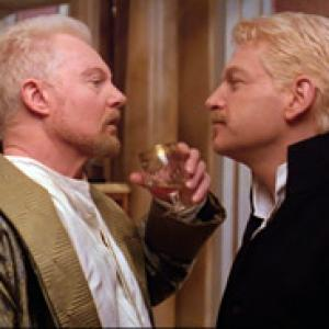 Derek Jacobi and Kenneth Branagh