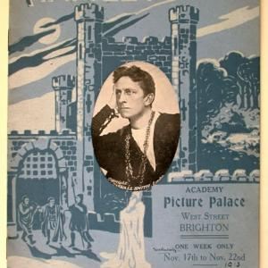 Poster for Screening at the Academy Picture Palace, Brighton