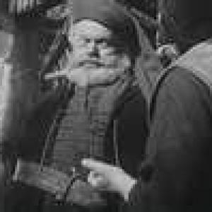 Welles and Unknown Actor