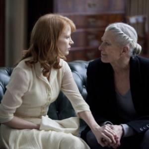 Jessica Chastain and Vanessa Redgrave