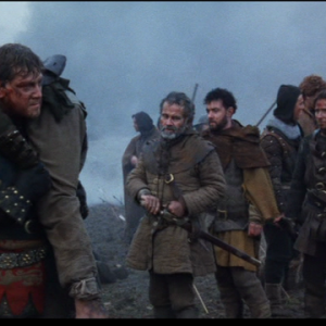 Kenneth Branagh, Ian Holm, and ensemble