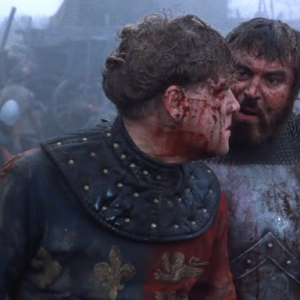 Kenneth Branagh and Brian Blessed