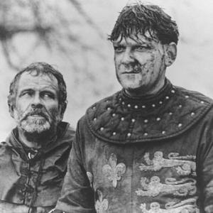 Ian Holm and Kenneth Branagh