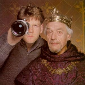 Kenneth Branagh and Paul Scofield