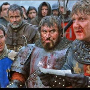Christopher Ravenscroft, Ian Holm, Brian Blessed, Kenneth Branagh, and ensemble